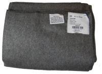 60x80 Wool Blanket (Gray)(60-70% Wool),in Zipper Bag