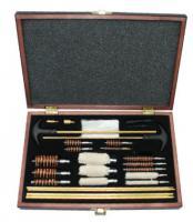 Universal Gun Cleaning Kit in Wood Box