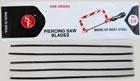 144pc Jeweler╞s Piercing Saw Blade Set ,Assorted Sizes
