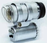 16X Illuminated Adjustable Focus Mini microscope